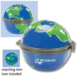 Stock Collectible Globe Design